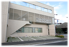 医院東側の写真